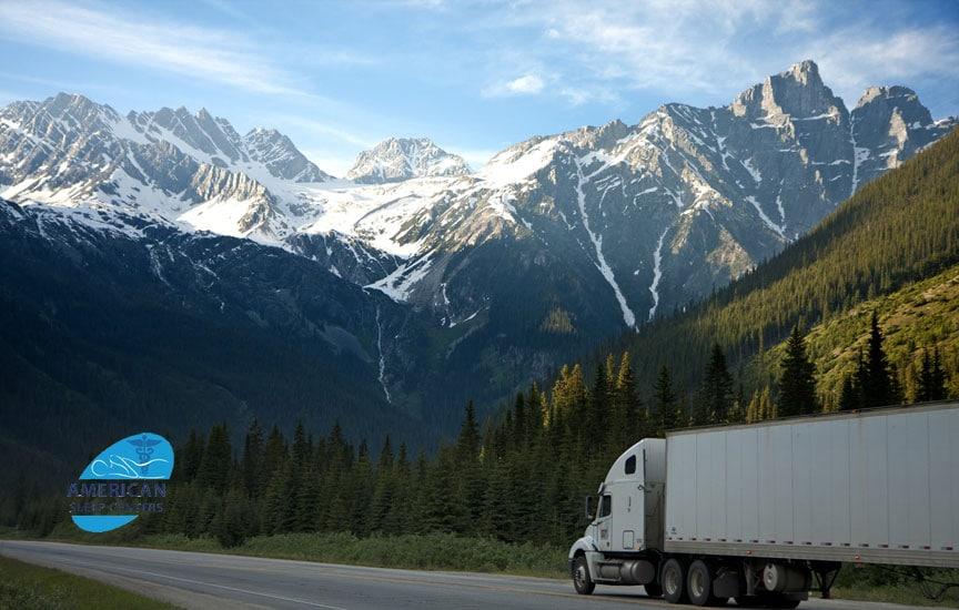 dot truck drivers sleep apnea testing
