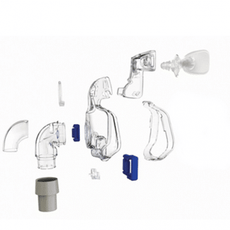ultra mirage II frame system with cushion no headgear