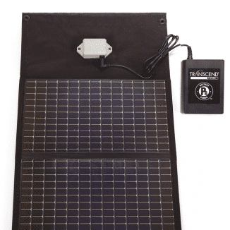 solar charger for transcend batteries